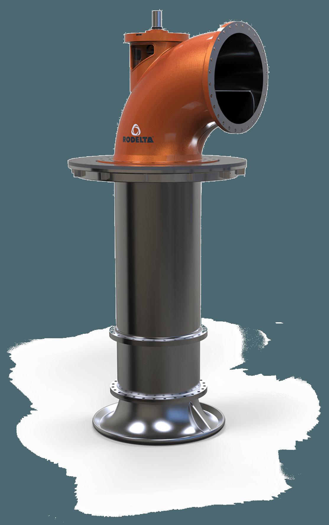 Bha Vs3 Axial Vertical Turbine Rodelta