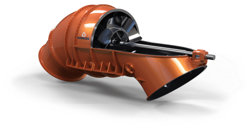 Axial flow pump (Hor)