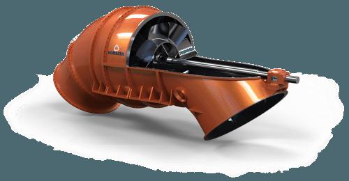 Axial flow pump (Hor)
