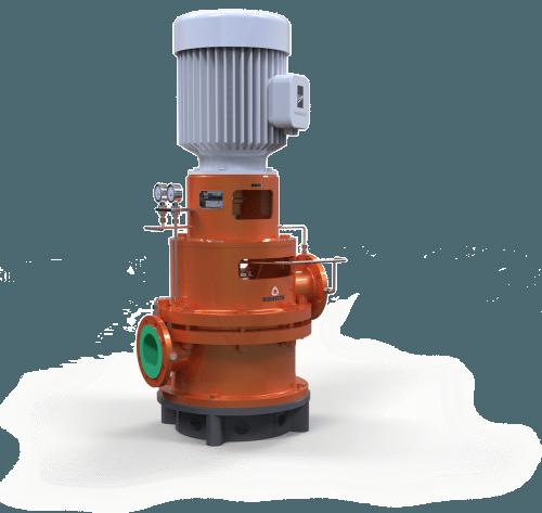 close coupled diffuser pump