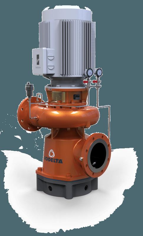 close coupled pump