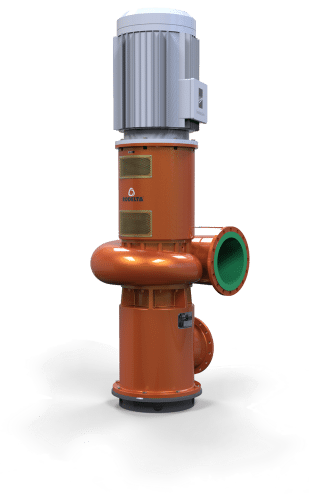 vertical volute pump