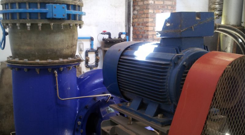 SPP pump on site