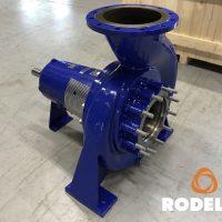 high solid density pump