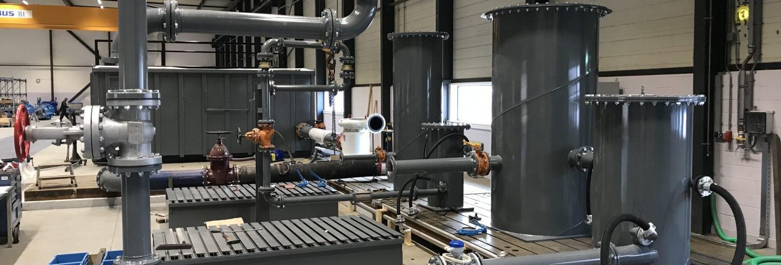 Test lab for API pumps