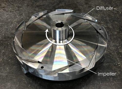 Explanation diffuser pump advantages over volute pumps