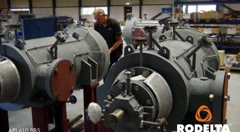 Assembly Barrel Pump