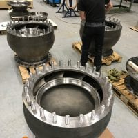 vertical turbine bowls