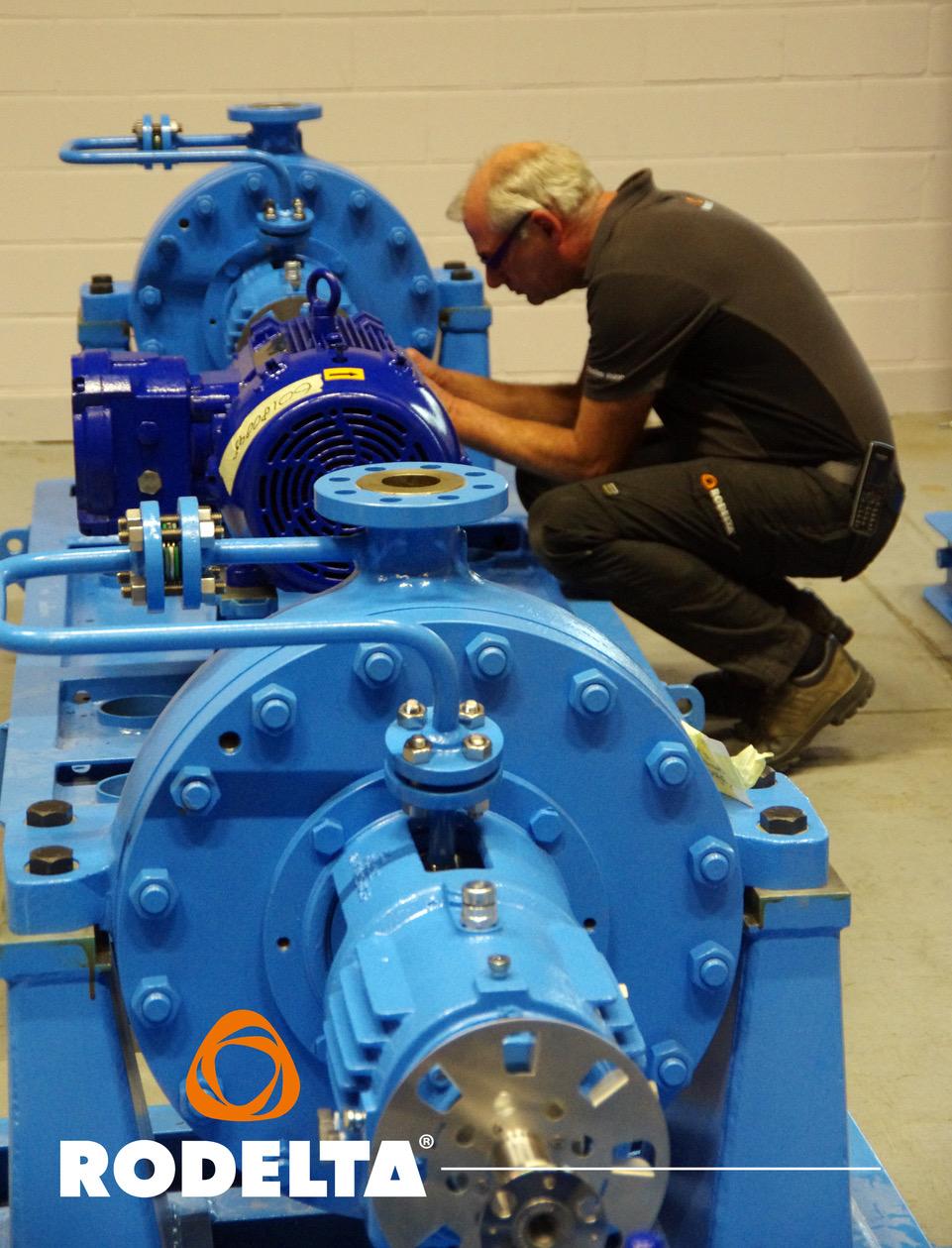 HZC (OH2 API 610 pump) - Rodelta